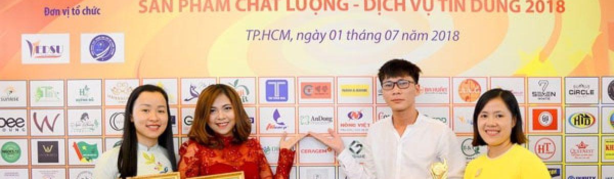 HẠ ĐƯỜNG SIKAI ĐẠT TOP 10 SẢN PHẨM CHẤT LƯỢNG VIỆT NAM NĂM 2018